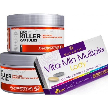 Formotiva - Lipo Killer + Olimp - Vita-Min Multiple Lady