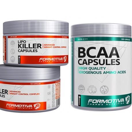 Formotiva - Lipo Killer 120k + BCAA Capsules 300k