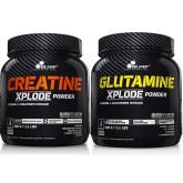 Olimp - Kreatyna Xplode + Glutamina Xplode