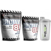 Hi Tec - Protein 80 3250g + Shaker