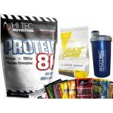 Hi Tec - Hi Tec Protein 1kg + Trec Max Carb + Shaker + Próbka