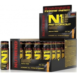 20x Nutrend N1 Pre Workout Shot 60ml