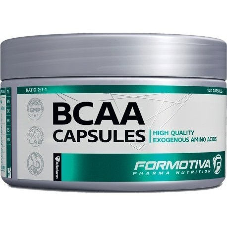 Formotiva - BCAA Capsules 120kaps
