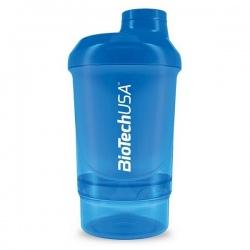 BIotech - Shaker Wave+Nano 300ml Blue