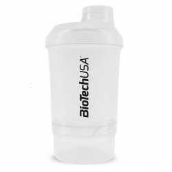 BIotech - Shaker Wave+Nano 300ml WHITE