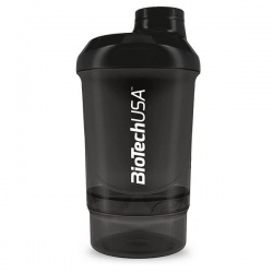 BIotech - Shaker Wave+Nano 300ml Black