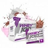 Trec - Whey 100 30g x 10 - Zestaw 10 smaków