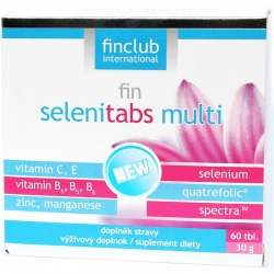 Selenitabs multi 60 tabletek - Finclub