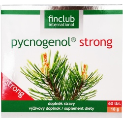 Finclub - Pycnogenol Strong 60 tabletek