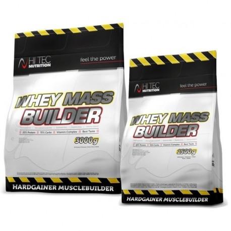 Hi Tec - Whey Mass Builder 4,5kg (3kg + 1,5kg) + Kreatyna 250g + Shaker - HIT