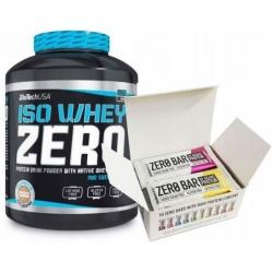 Biotech - Iso Whey Zero 2270g + 10x Zero Bar 50g