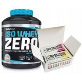 Biotech - Iso Whey Zero 2270g + Glutamine Zero 600g + Shaker GRATIS