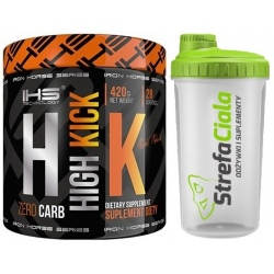 Iron Horse High Kick 420g + Shaker Gratis!