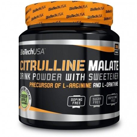 Biotech - Citrulline Malate Green Apple 300g