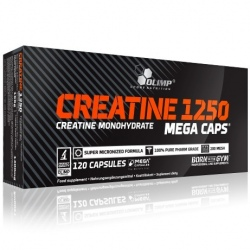 Olimp - Creatine 1250 Mega Caps 120k