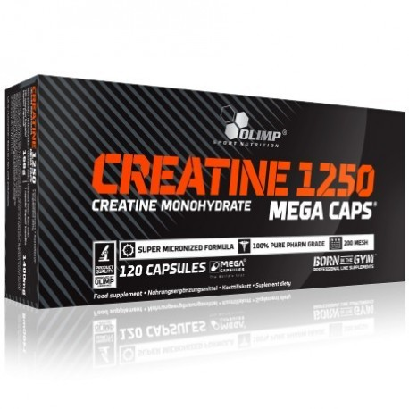 Olimp - Creatine 1250 Mega Caps - 120kaps.
