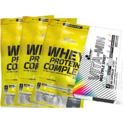 Olimp - Whey Protein Complex 3x700g + Multiple Sport 60k