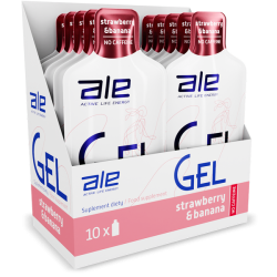 Żele energetyczne Ale Gel - 10szt x 55,5g/smaki
