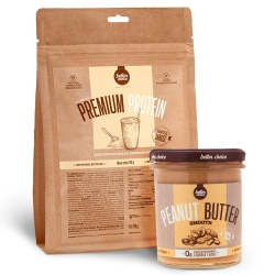 Better Choice - Premium Protein 750g + Peanut Butter 500g