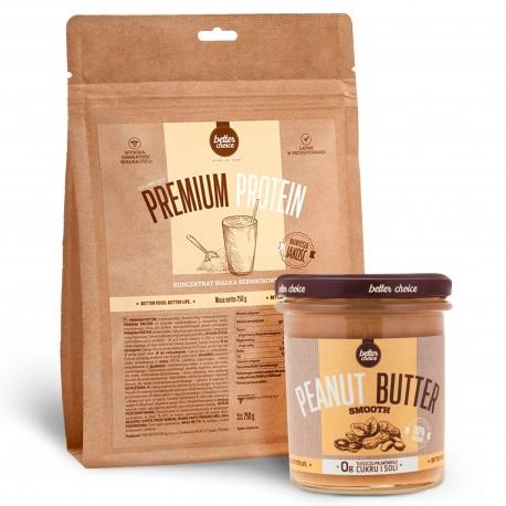 Better Choice - Premium Protein 750g + Peanut Butter 500g