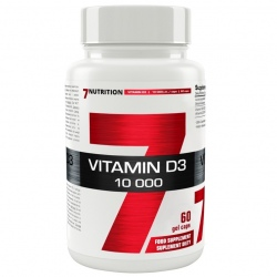 7Nutrition Vitamin D3 10 000 60k