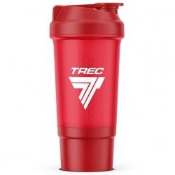 Trec - Shaker z komorą 0,5l Red