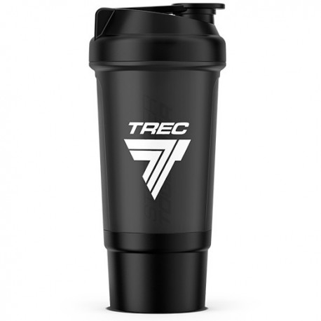 Trec - Shaker z komorą Black