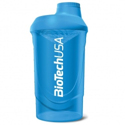 Biotech - Shaker Wave 600ml Blue