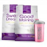 Zestaw Queen Fit - Good Morning 720g + Sweet Dreams 750g + GRATIS