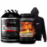 Plutonium 1000g + Creasteron 2640g + Bluza Gratis!