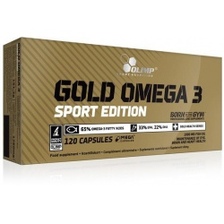 Olimp - Gold Omega 3 Sport Edition 120kaps