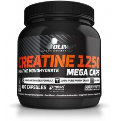 Olimp - Creatine 1250 Mega Caps - 400kaps.