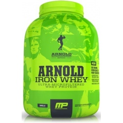 Muscle Pharm- Arnold Iron Whey 2270g