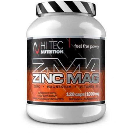 Hi Tec - ZincMag ZMA 120kaps