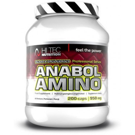 Hi Tec - Amino Anabol Professional - 200kaps.