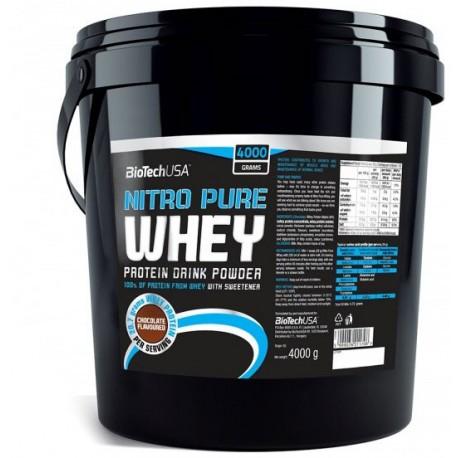 Biotech - Nitro Pure Whey 4000g