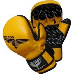 Beltor - Rękawice MMA Training Yellow