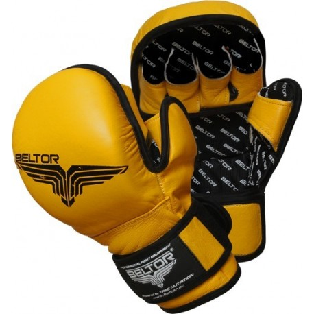 Beltor - Rękawice MMA Training Yellow