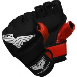 Beltor - Rękawice MMA Pride Black - Red