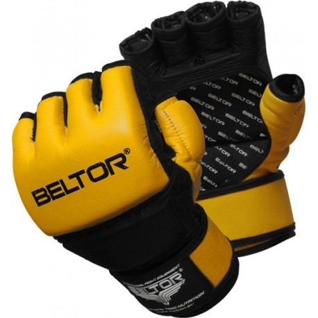 Beltor - Rękawice MMA One Yellow - Black