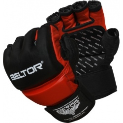 Beltor - Rękawice MMA One Black - Red