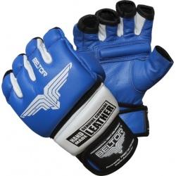 Beltor - Rękawice MMA Combat Blue - White