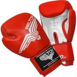Beltor - Rękawice Bokserskie Standard Red