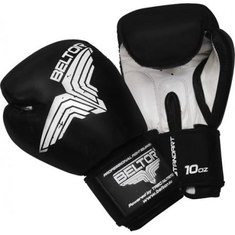 Beltor - Rękawice Bokserskie Standard Black