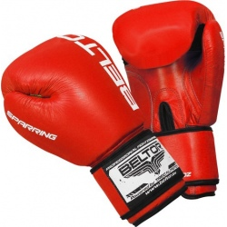 Beltor - Rękawice Bokserskie Sparring Red