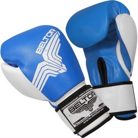 Beltor - Rękawice Bokserskie Pro Fight Blue