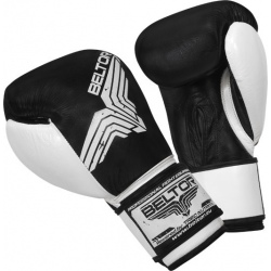 Beltor - Rękawice Bokserskie Pro Fight Black