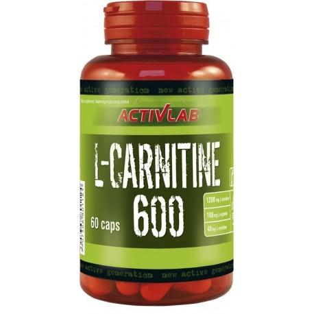 Activlab - L-Carnitine 600 - 135kaps.