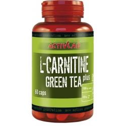 Activlab - L-Carnitine + Green Tea - 60kaps.