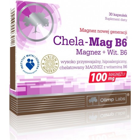Olimp - Chela Mag B6 - 30kaps.